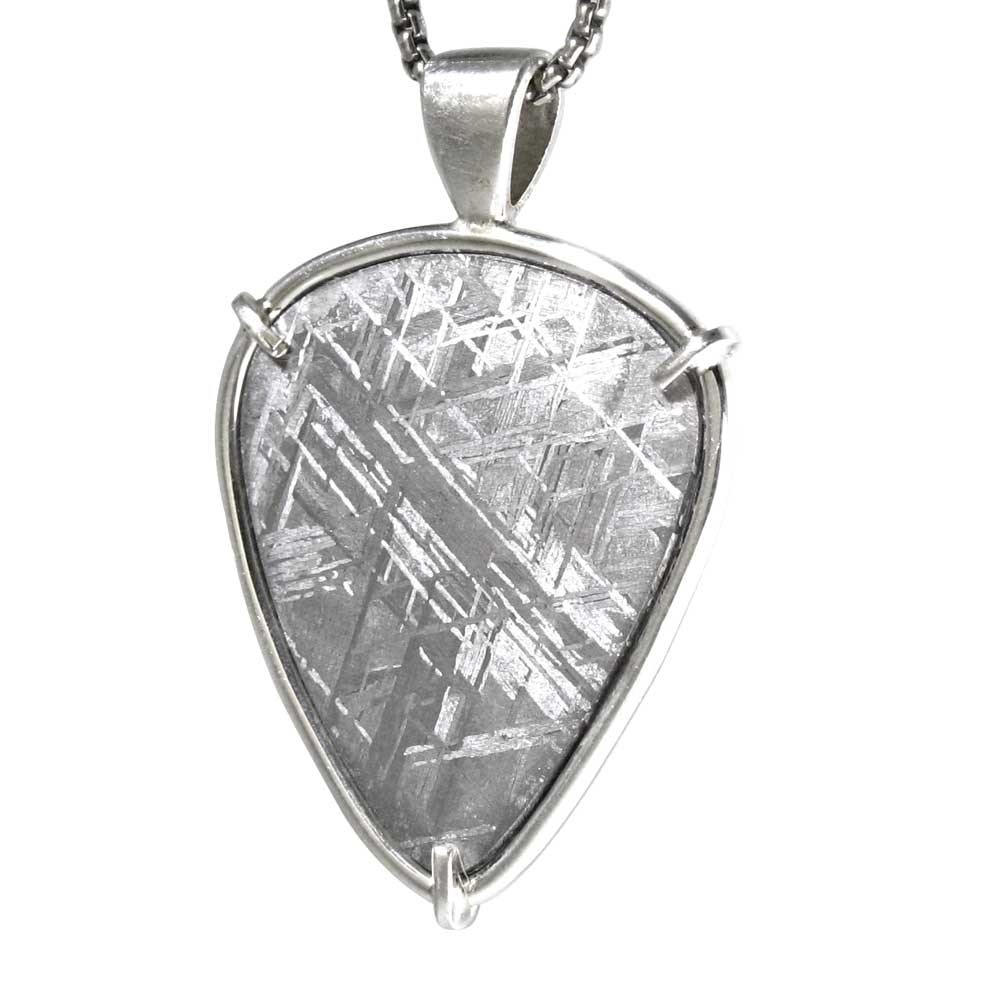 Shield shaped meteorite pendant aloadofball Images