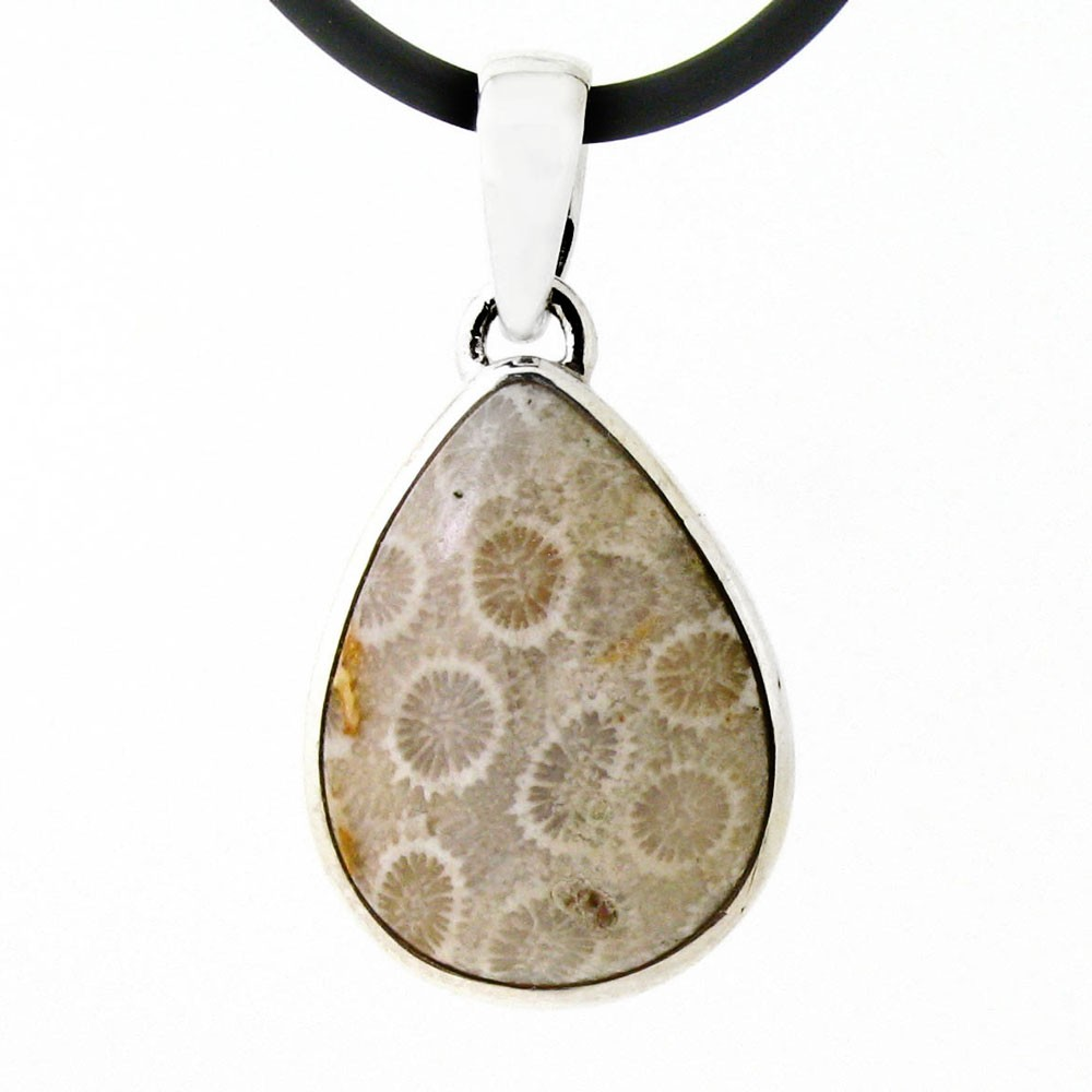 pendant coral shop sterling half rise silver collections