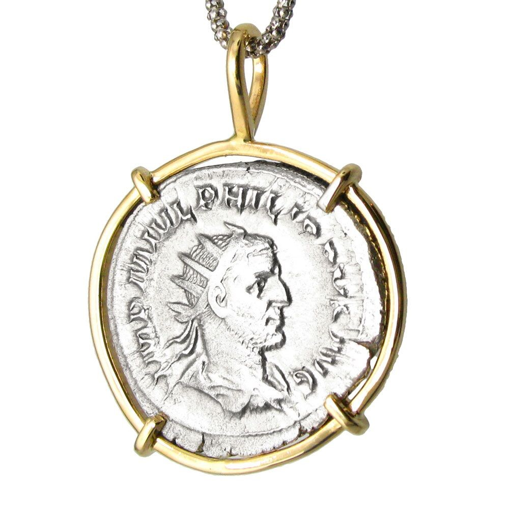 roman necklace sale for pendant of jewelry coin and at inspirational gold awesome