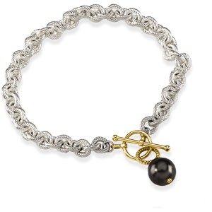 Tahitian Cultured Pearl Toggle Bracelet