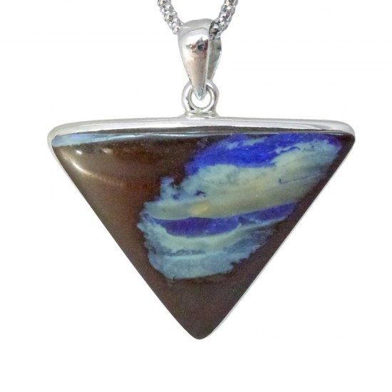 Triangular Shaped Boulder Opal