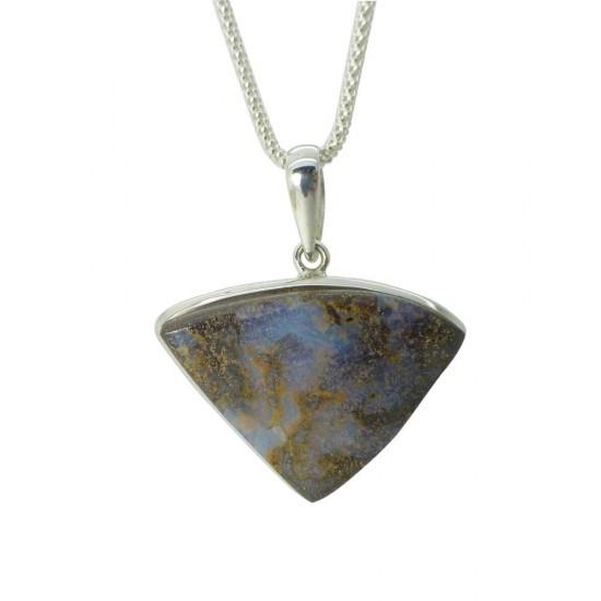Australian Boulder Opal Pendant - 30ct
