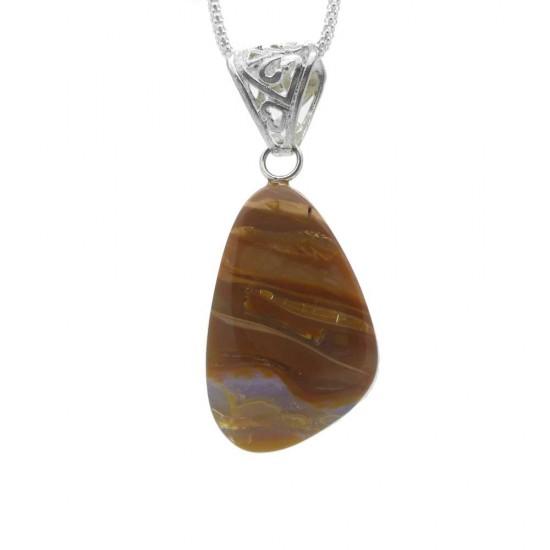 Australian Boulder Opal Pendant - 32ct
