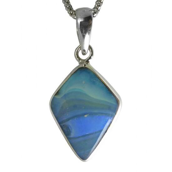 Australian Boulder Opal Pendant - 8 carat