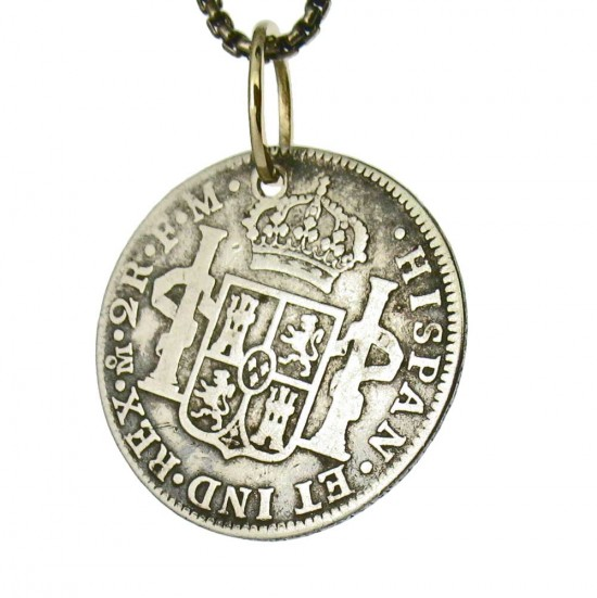 Spanish Silver Two Reale Dated 1797