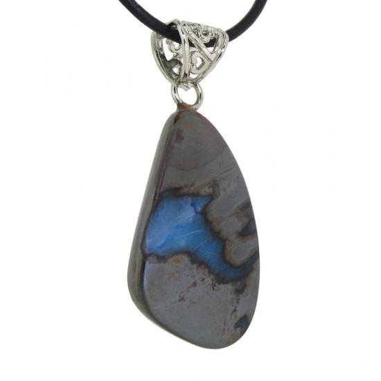 Beautiful Seam of Blue Boulder Opal