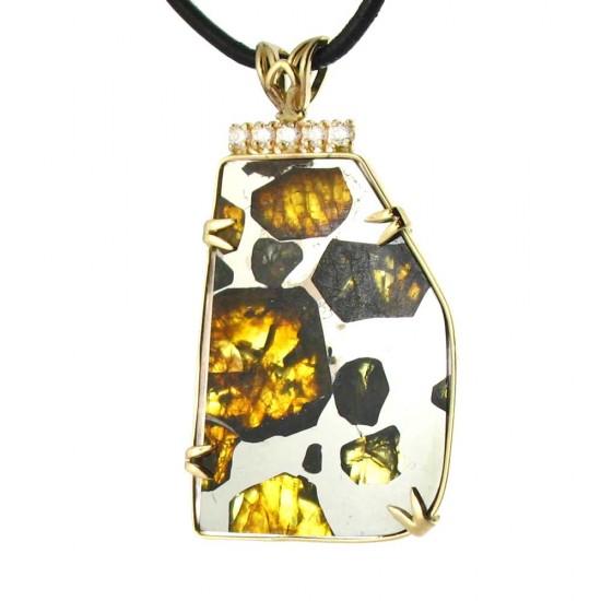 Esquel Pallasite with Diamonds