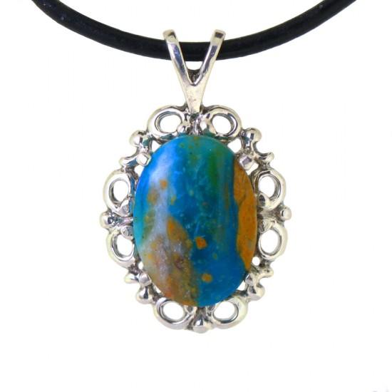Peruvian Opal Pendant