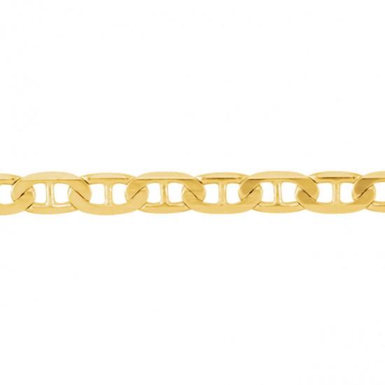 14kt Gold Anchor Link