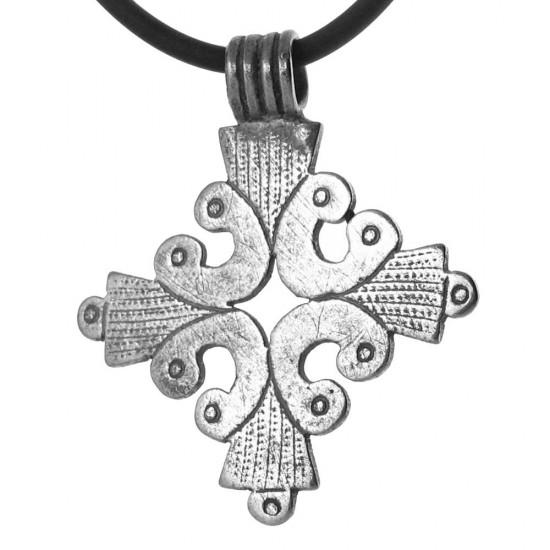 A Unique Patterned Ethiopian Coptic Cross