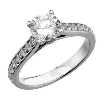 Diamond Engagement Ring for Your Round Diamond