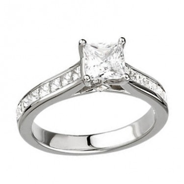 Diamond Engagement Ring for Your Princess Cut Diamond