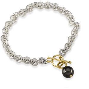 Tahitian Cultured Pearl Toggle Bracelet