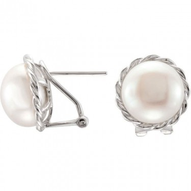 Freshwater Cultured Button Pearls