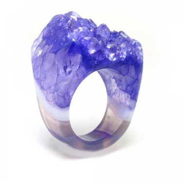 Brazilian Crystal Ring Size 8