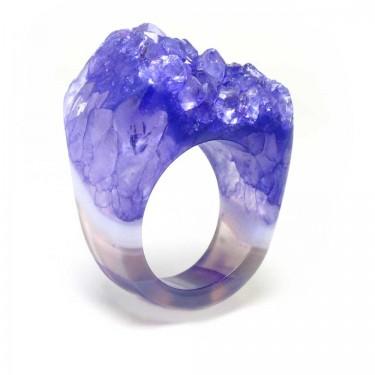 Brazilian Crystal Ring Size 8
