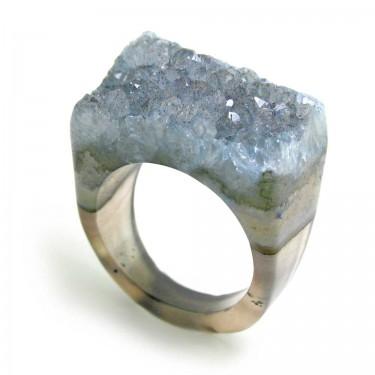 Brazilian Crystal Ring Size 7.5