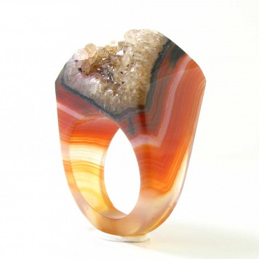 Agate Crystal from Brazil Size 8