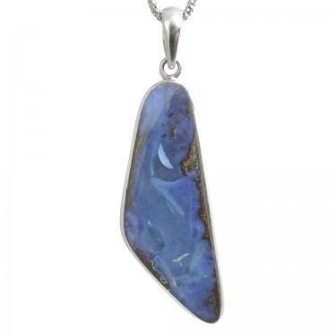 Australian Boulder Opal Pendant - 24ct