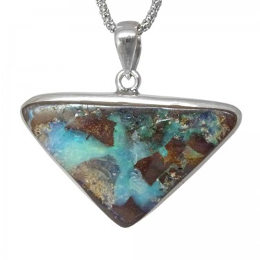 Triangular Shaped Boulder Opal