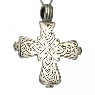 A Beautifully Patterned Coptic Cross