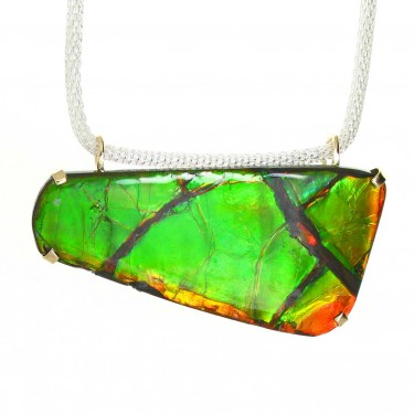 A Beautiful Large Canadian Ammolite