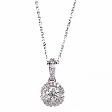 The Classic Diamond Pendant