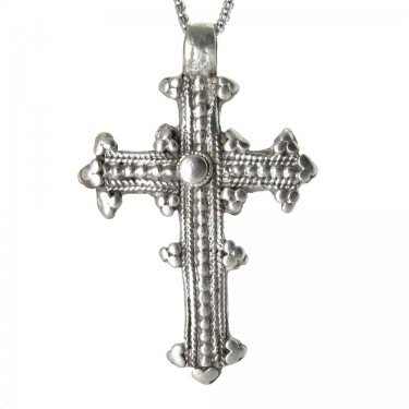 Ornate Coptic Cross from Dessie, Ethopia