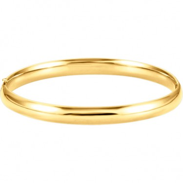 14kt Bangle Bracelet in Yellow, White, or Rose Gold