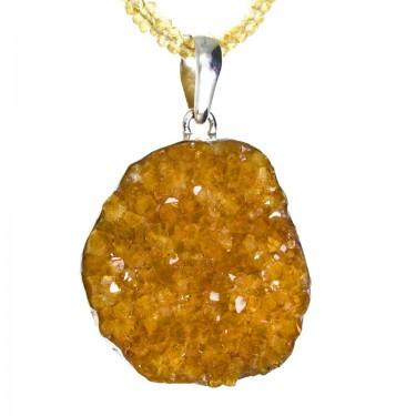 Natural Citrine Crystal Cluster
