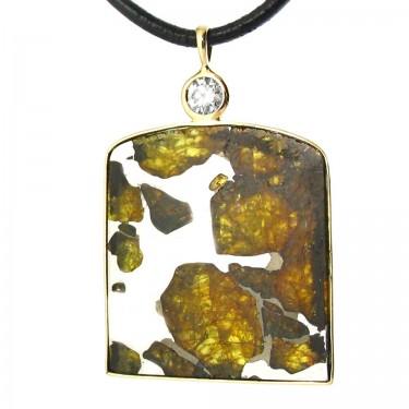 Pallasite Meteorite From Chile
