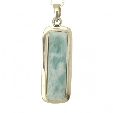 Rectangular Larimar