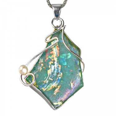 Custom Roman Glass Pendant