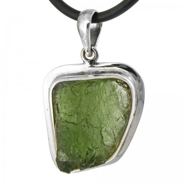 One of Our Larger Natural Moldavite Crystal