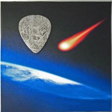 A Meteorite Guitar Pick