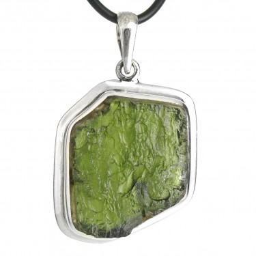 Beautiful Natural Bubbly Crystal Moldavite