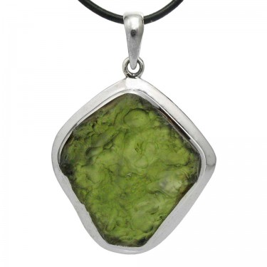 One of Our Largest Natural Moldavite Crystal