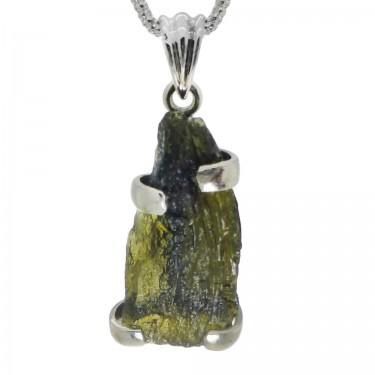 Deep Green Moldavite