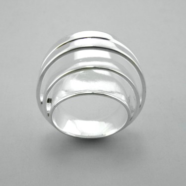 Inca Inspired Silver Ring