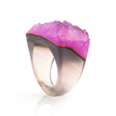 Brazilian Agate Ring Size 8