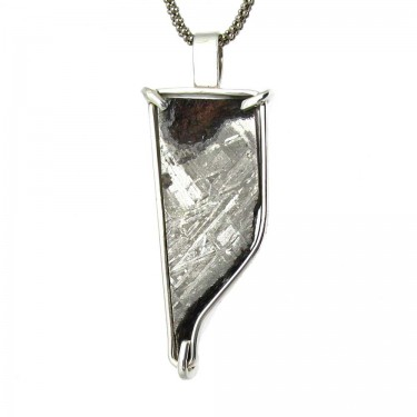Meteorite Pendant with Exterior Surfaces